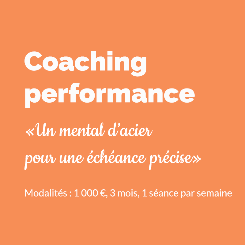 Bruno Bernasconi, Coaching performance préparation mentale